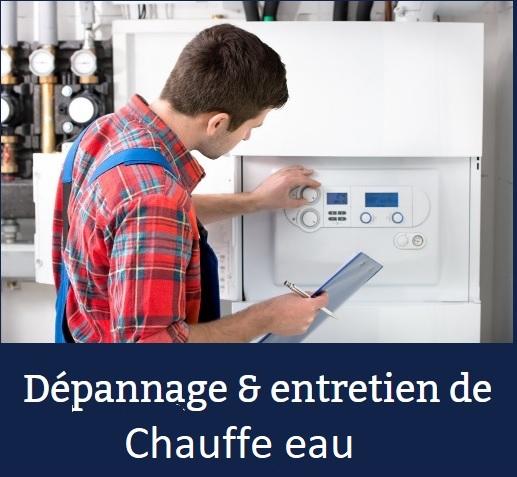 Dépannage et Entretien chauffe eau avec plombier chauffagiste VILLIERS-LE-MAHIEU
